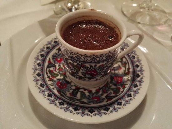 Gunaydin Kebap Restaurant : Turkish Coffe