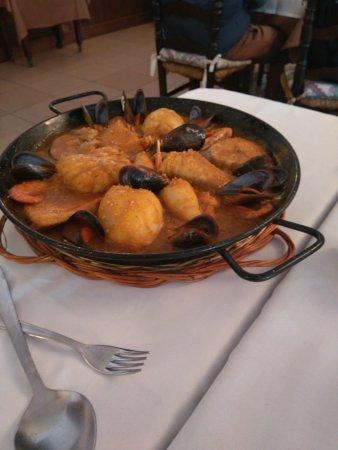 Portbou, Espagne : Zarzuela de pescado