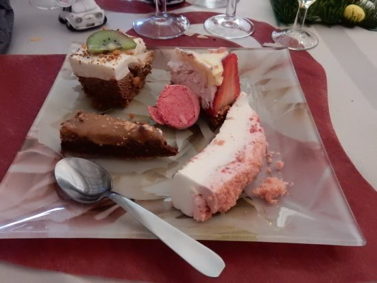 Boeschepe, France : assortiment de desserts