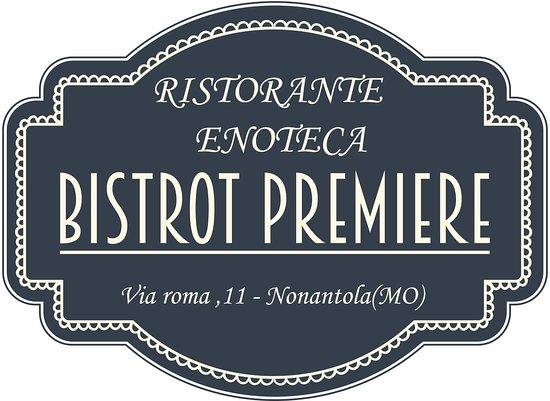 Nonantola, Italia: logo ufficiale del bistrot premiere