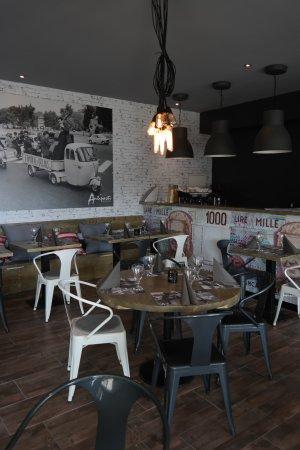 Antipasti - pizzeria: Une décoration entièrement revue