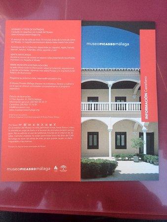 Musée Picasso de Malaga : Información del museo.