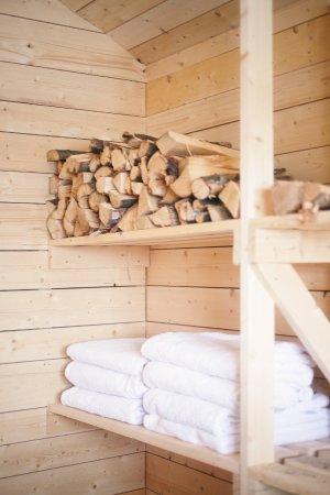 Overtornea, สวีเดน: Sauna chamber