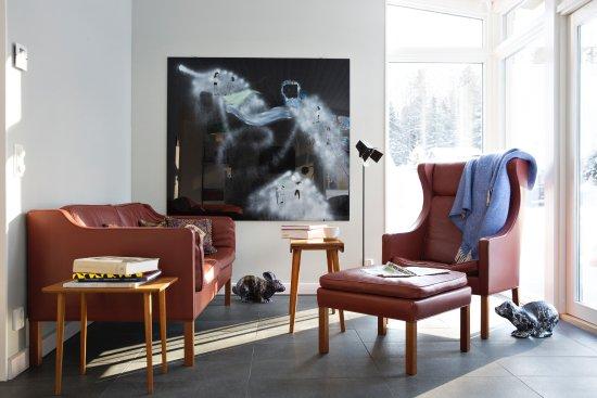 Overtornea, สวีเดน: Sitting room House Wennberg