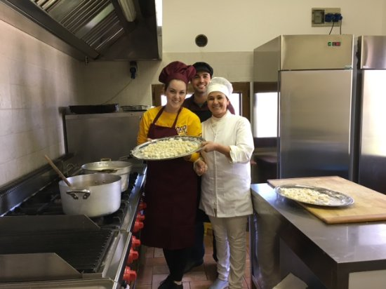 Piancastagnaio, Italy: Cooking class with Ornella: so much fun!