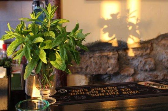 Arkassa, Greece: Local mint...most importants ingrediens in Stema!!! :-)