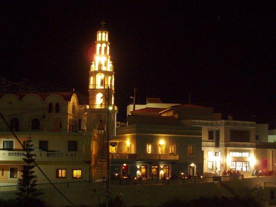 Arkassa, Greece: Stema Bar is located under the church of Arkasa :)