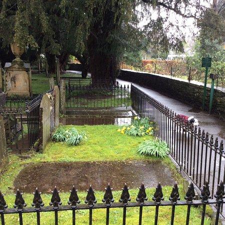 Grasmere, UK: Wordsworth grave