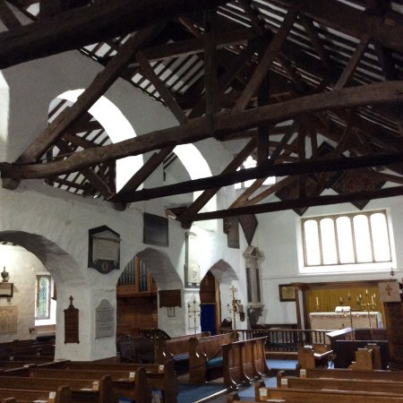 Grasmere, UK: A lovely church.