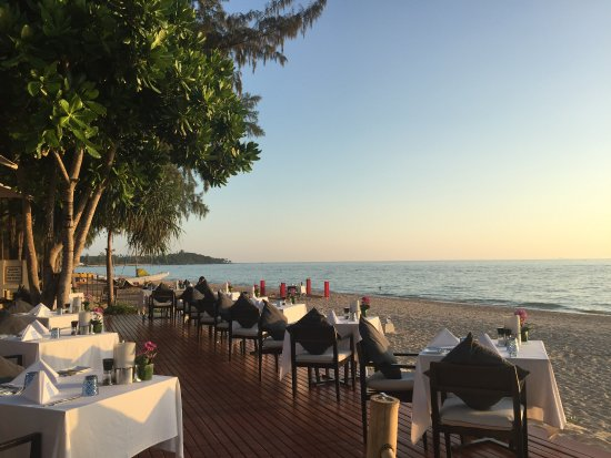 Layana Resort and Spa: Restaurant Tides
