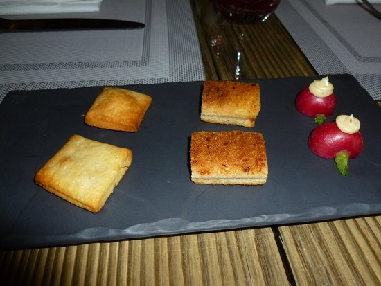 Servoz, Francja: the amuse bouche