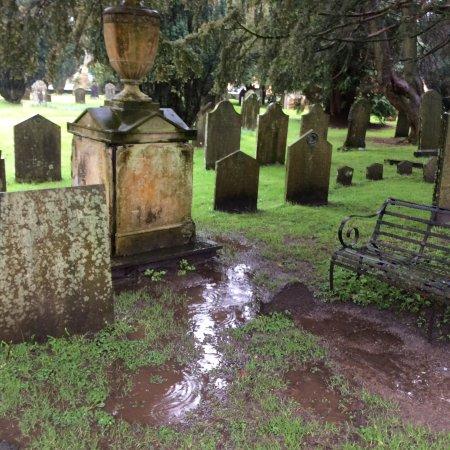Grasmere, UK: Wordsworth family grave.