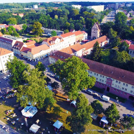 Neubrandenburg, Duitsland: The green heart of the city ...
