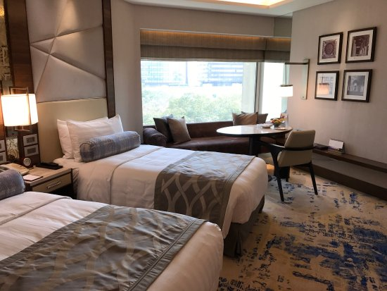 Shangri Lau0027s Eros Hotel: The Hotel Is Under Renovation And The Renovated  Rooms Smell