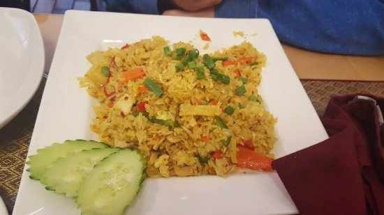 Avon Lake, OH: Pineapple Fried Rice