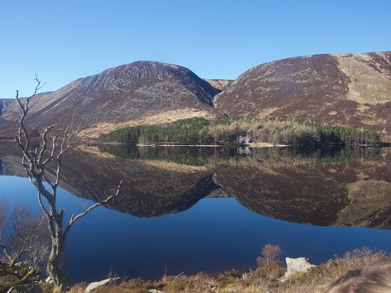 Ballater, UK: view at lunch - Loch Muick