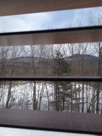 Inn at Ellis River: Love the mountain views!