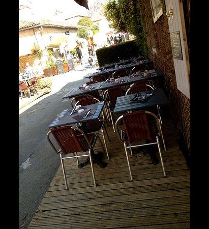 Blaye, France: Terrasse