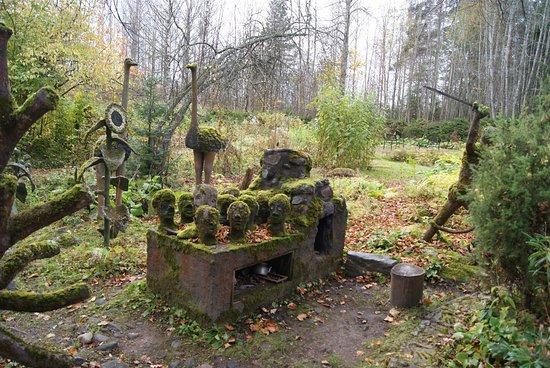 Parikkala, Finland: Парк скульптуры в Париккала