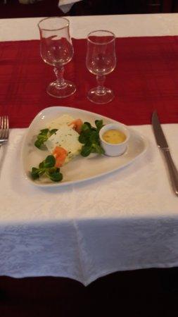 Valognes, Francia: Terrine de poisson mayonnaise à l'estragon