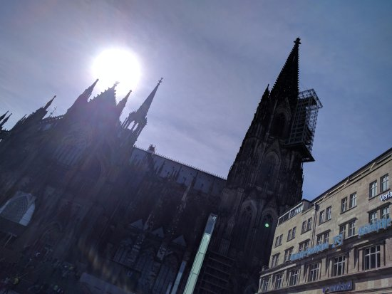 Cologne Cathedral (Dom): Construction was being applied but; still amazing!