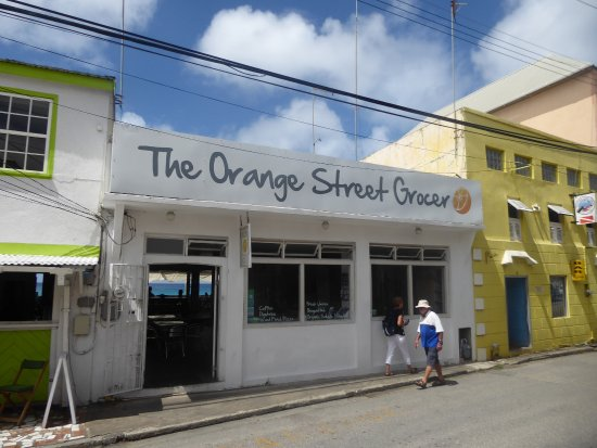 Speightstown, Barbados: from the street-side