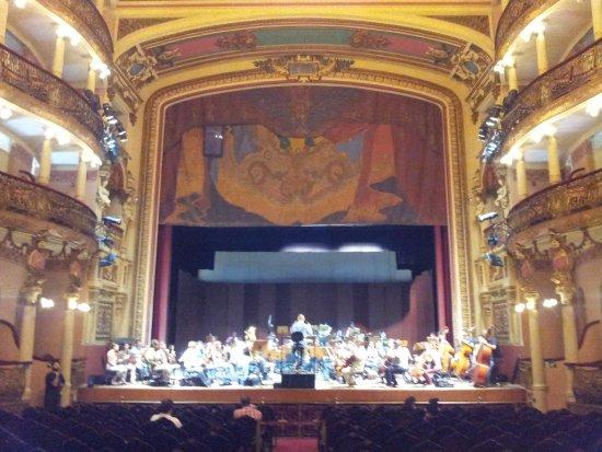 Théâtre Amazonas : Ensaio da Orquestra Municipal...
