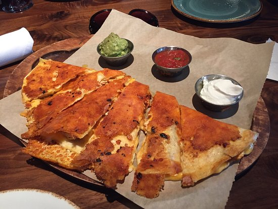 Euless, TX: Chicken quesadillas