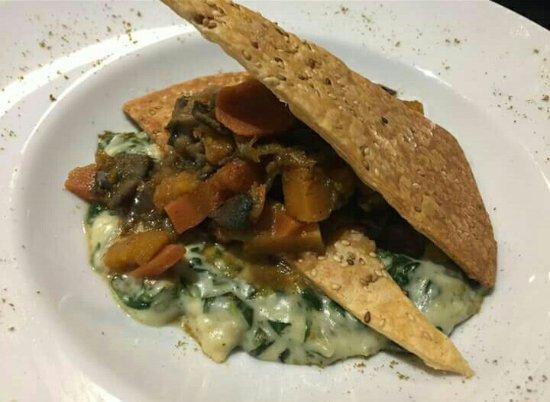 Agen, Frankrike: Plat végétarien