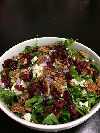 Blackstone, VA: Arugula salad