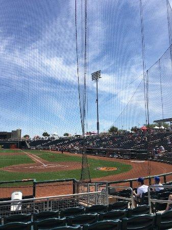 Goodyear, AZ: Home plate