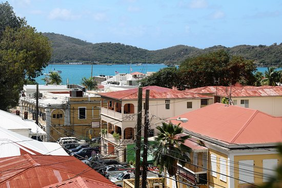 Bunker Hill Hotel Roof Tops Of Charlotte Amalie