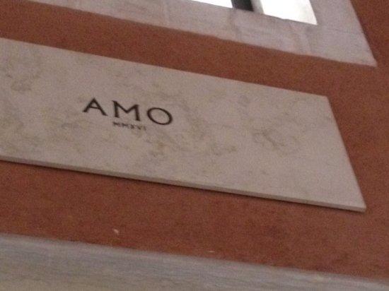 Insegna di amo picture of amo venice tripadvisor for Ristorante amo venezia