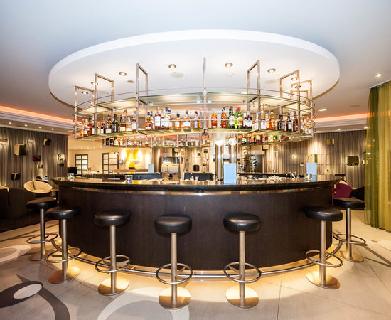 Oval Bar at the Radisson Blu Hotel, Basel