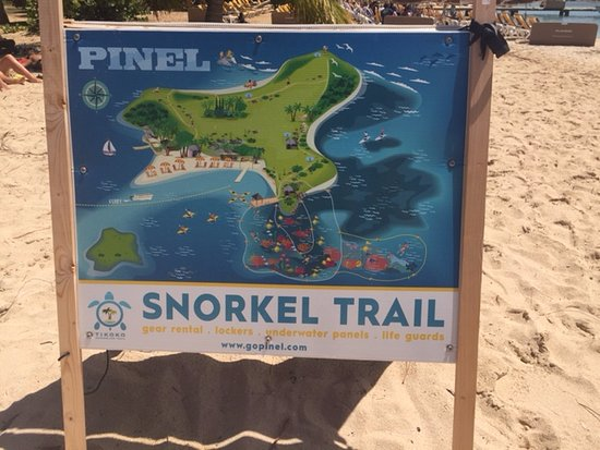 Oyster Pond, St. Maarten-St. Martin: great are to snorkel in Pinel Island