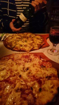 Pringle Bay, South Africa: Pizza...yummy