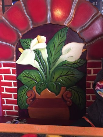 Mankato, MN: One of the decorated booths