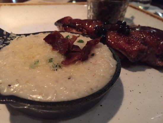 Mimosa Grill: The duck was delicious. I asked to replace my side with the grits. Great experience, all the win