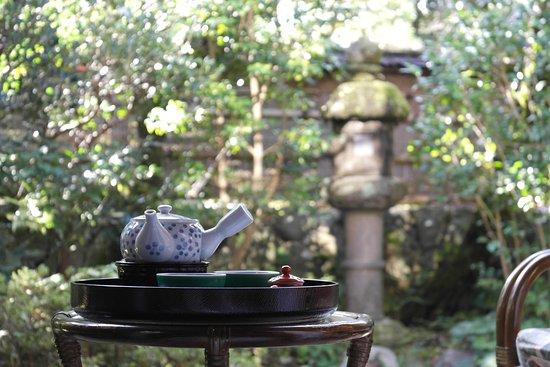 Kawachinagano, Japonia: Чайный набор