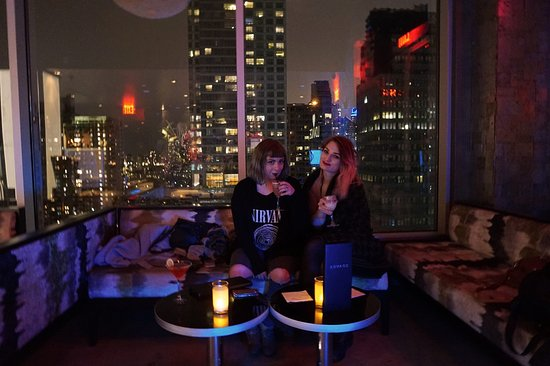 rooftop bar lovage picture of doubletree by hilton new. Black Bedroom Furniture Sets. Home Design Ideas