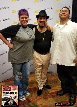 San Jacinto, Kaliforniya: Met the man himself! Whoop. Whoop. LOVE it. Tribal V.I.P.  I stay blessed. =)  #SobobaReservatio
