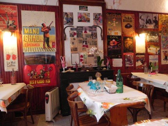 Chez Jeannette: la salle du restaurant
