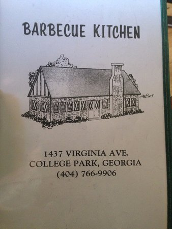 College Park, MD: menu with address