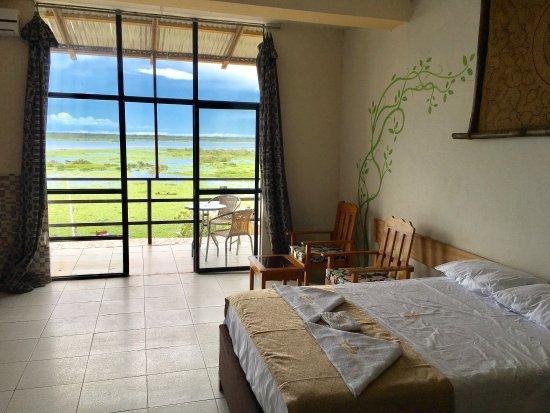 Vista desde la suite del cuarto piso del Cauchero Hotel