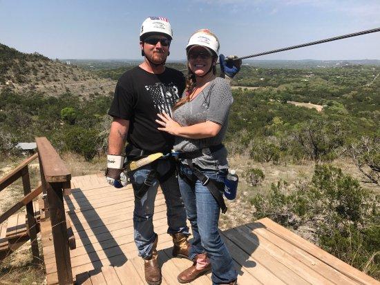 Wimberley Zipline Adventures: We loved it!! Everyone was very helpful and friendly!! We will definitely return!!!