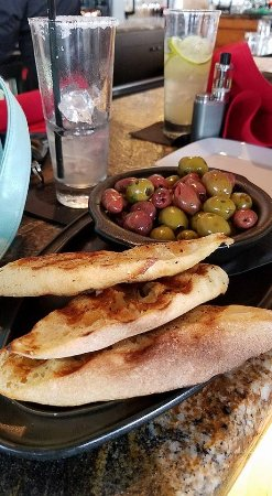 Rock Hill, SC: olives were a little too salty for my taste