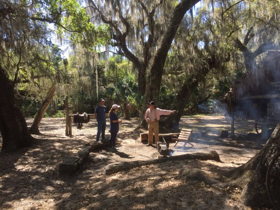 Lake Kissimmee State Park: Great colorful storytelling at this portion of the park.