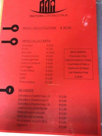 Trinita, Italy: good surprise