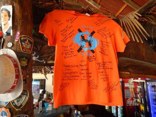 Woodys Beach Bar 50th Birthday Jersey