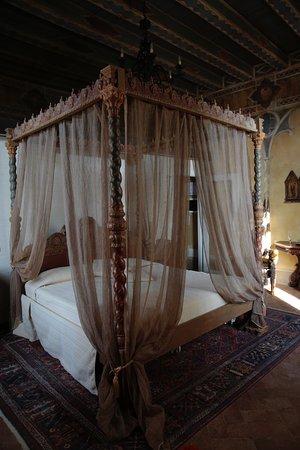 Letto Baldacchino Roma.Letto A Baldacchino Foto Di Castello Bevilacqua Tripadvisor